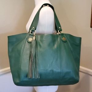 Onna Erhlich large leather shoulder bag